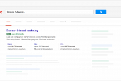 AdWords Prijsextensies